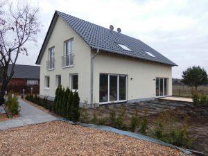 Neubau Doppelhaus in Kleinzerlang Rheinsberg